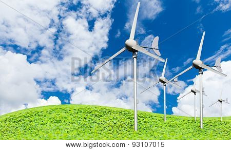 Eco Power, Wind Turbines Generating Electricity