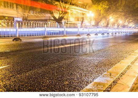 China road night view