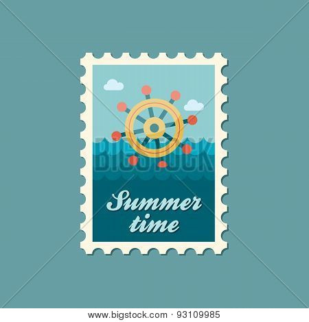 Helm Flat Stamp, Summertime