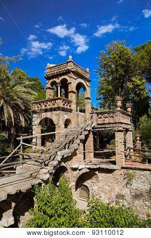 Garden della Villa Communale At Taormina Sicily