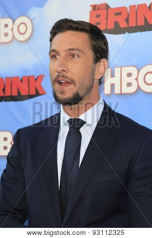 LOS ANGELES - JUN 8:  Pablo Schreiber at the HBO's
