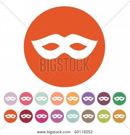 The Festive Mask Icon.