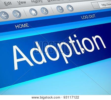 Adoption Concept.