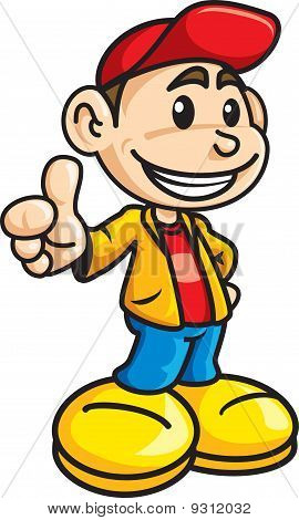Thumb up Boy