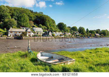 Rowing Boat At Lerryn