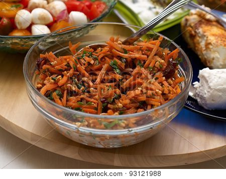 Delicious Spicy Oriental Carrot Salad