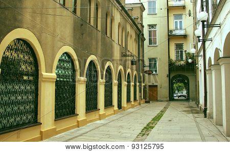 street in Tarnow
