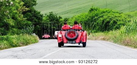 old car O.M. 665 SS MM 1929  mille miglia 2015
