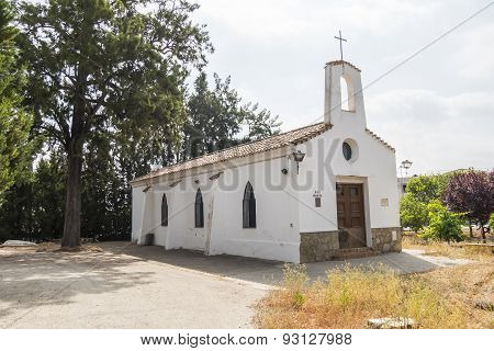 Old Chapel In Rural Area