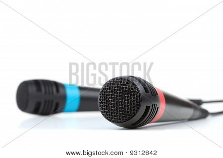 Two Cable Microphones