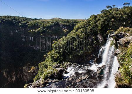 Tigre Preto Waterfall, Brazil