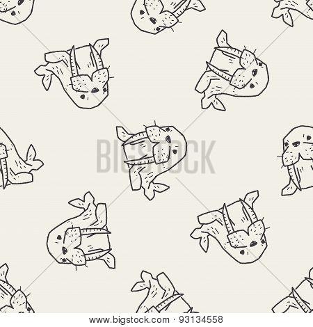 Walrus Doodle