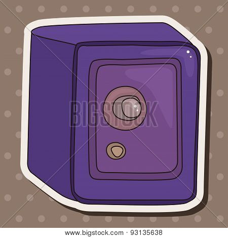 Safety Deposit Box Theme Elements