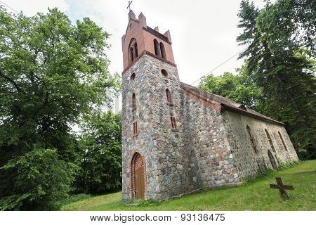 Historic church in East Germany