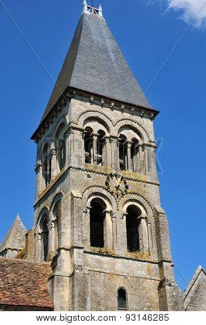 Ile De France, The Historical Church Of  Morienval