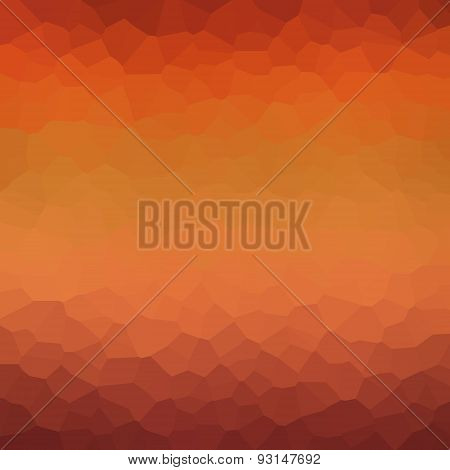 Colorful Mosaic Pattern For Your Design. Geometric Retro Background. Gradient Background. Sunset Bok