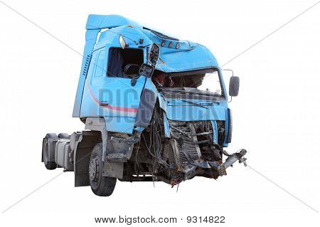 Crash-LKW