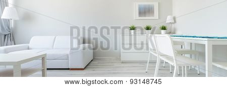 White Interior In Minimalist Design