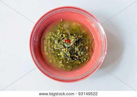 Ceylon Spinach Soup, Northern Thai Food