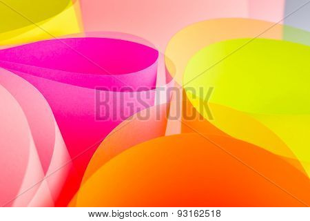 color paper background.
