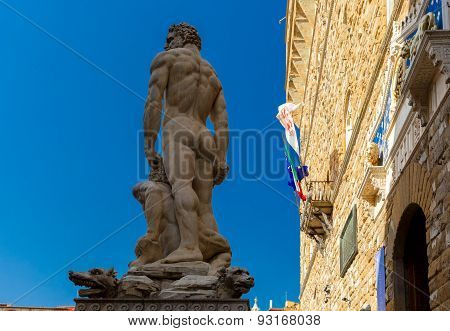 Hercules and Cacus in Florence, Italy