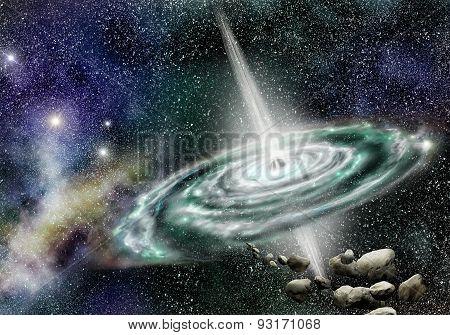 Quasar Galaxy