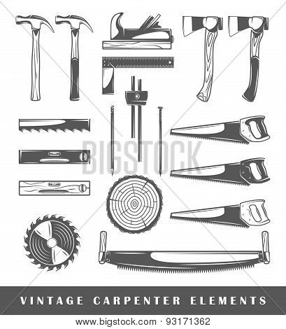 Vintage Carpenter Elements