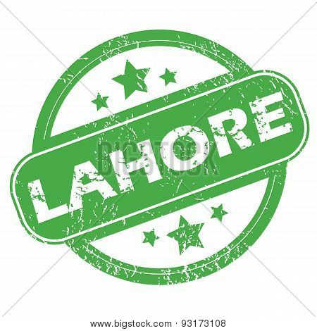 Lahore green stamp