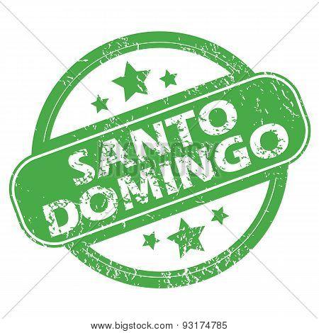 Santo Domingo green stamp
