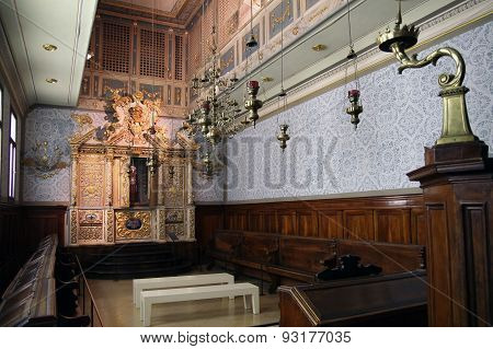Vittorio Veneto Synagogue From 1700 Ad, Northern Italy
