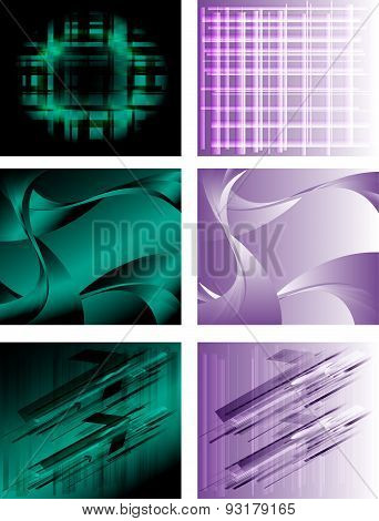 Vibrant backgrounds collection