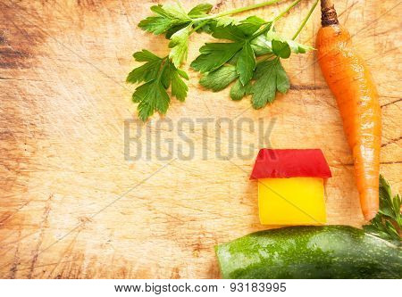 united beauty of vegetables
