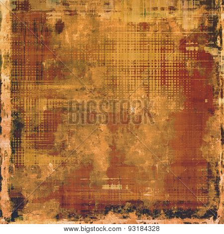 Antique vintage background. With different color patterns: yellow (beige); brown; gray; black