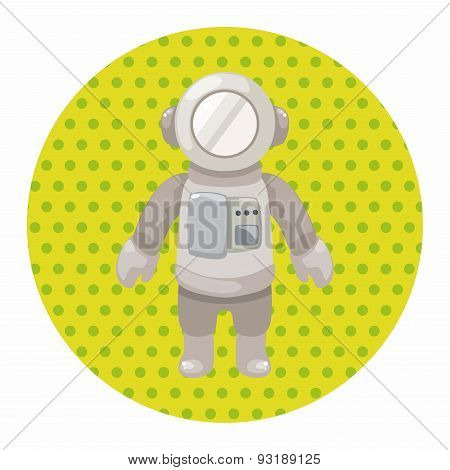 Spaceman Theme Elements Vector,eps