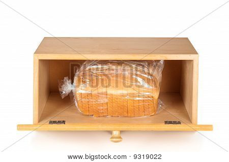 Bread Box On White
