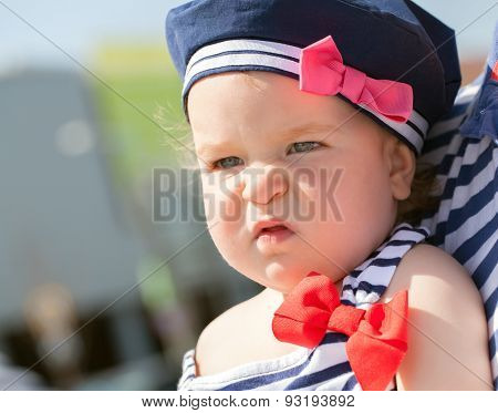 Cute Baby Girl Portrait