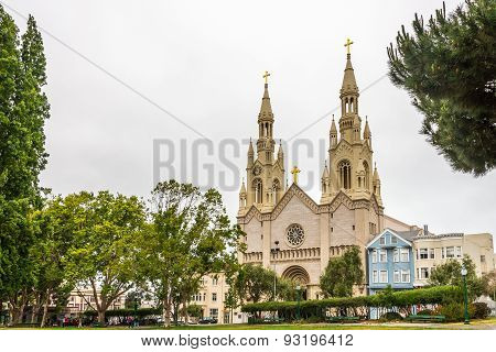 Church Of Sts.peter And Paul In San Francisco