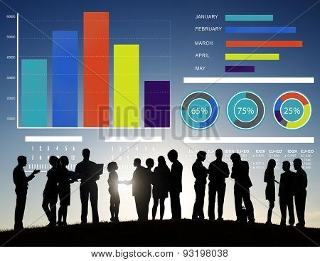 Business People Strategy Corporate Discussion Team Concept