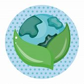 image of environmental protection  - Environmental Protection Concept Theme Elements - JPG