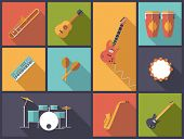 stock photo of congas  - Musical Instruments for Pop - JPG
