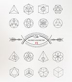 image of philosophy  - Sacred geometry - JPG