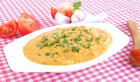 pic of raita  - Tomato and onion curry - JPG