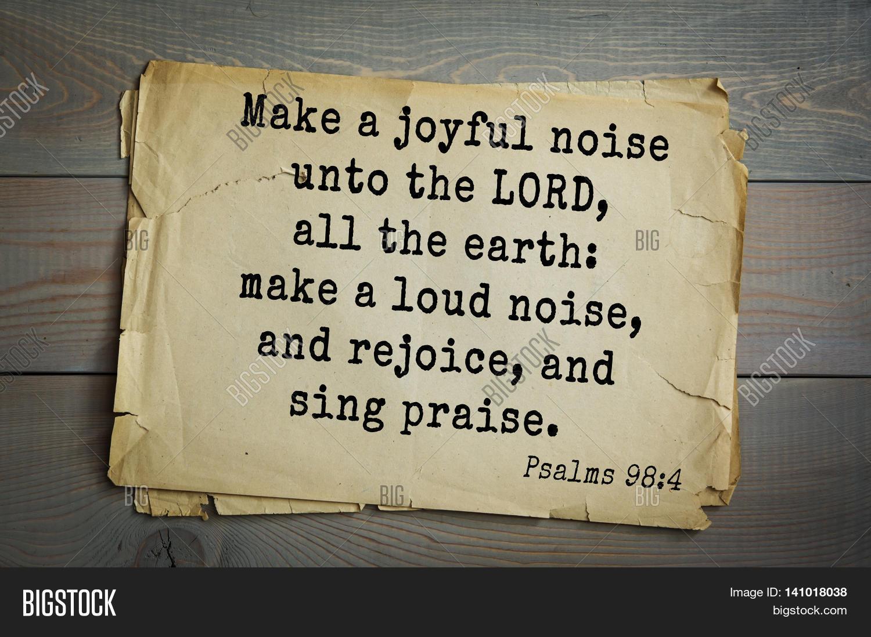 Top 500 Bible Verses. Make Joyful Image & Photo | Bigstock