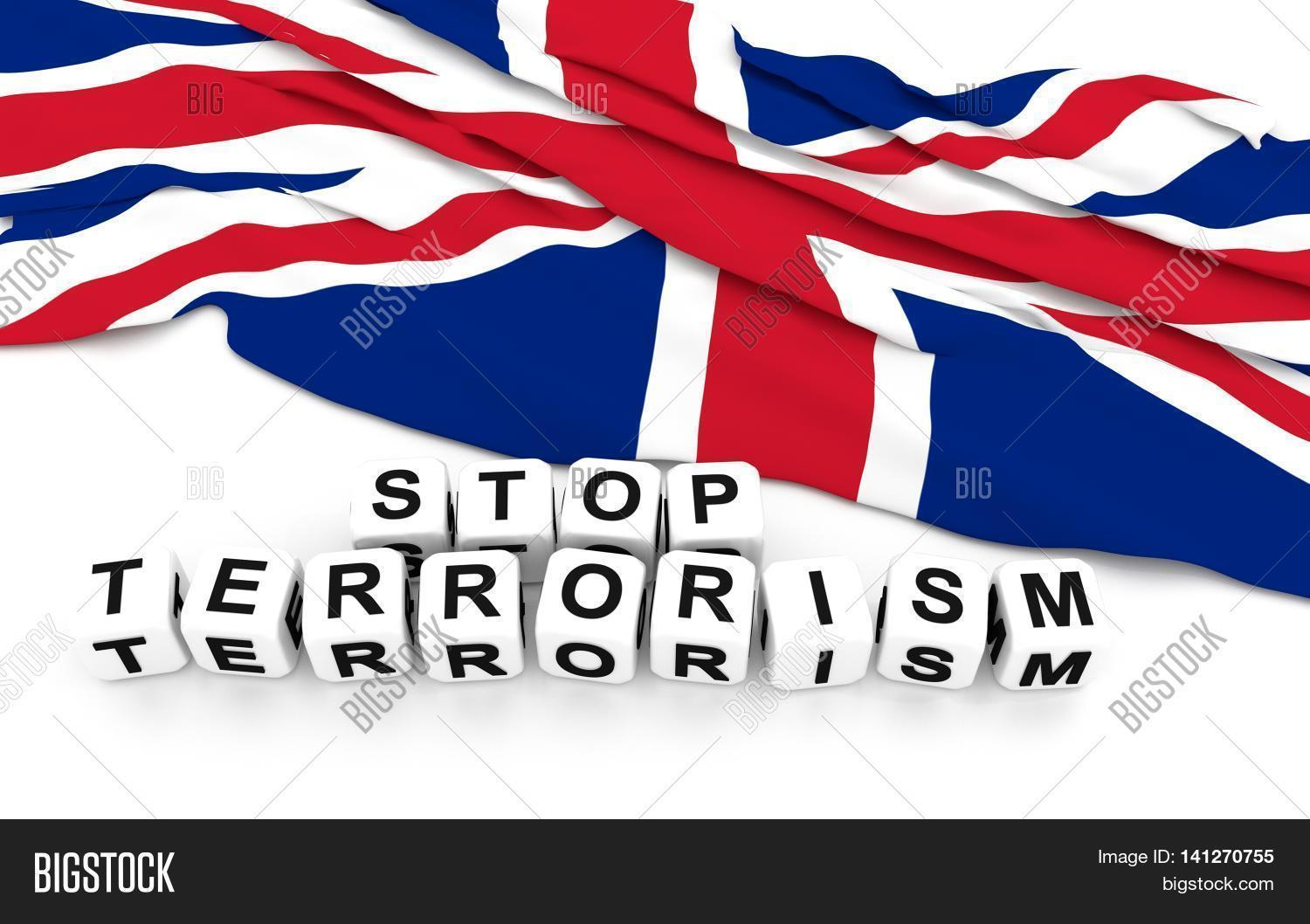 great britain flag write stop image u0026 photo bigstock