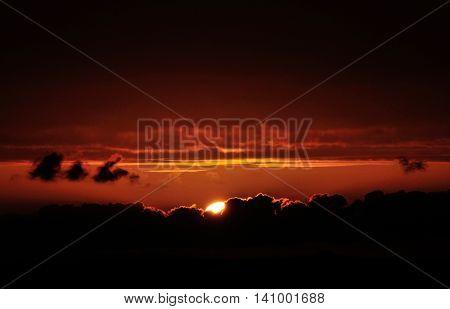 Reddish Sky