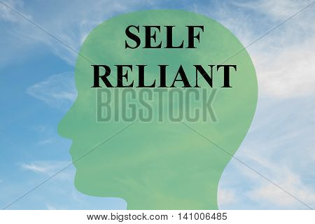 Self Reliant - Mental Concept