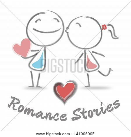 Romance Stories Shows Find Love And Affection