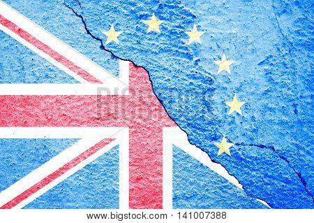 Brexit Blue European Union Eu Flag