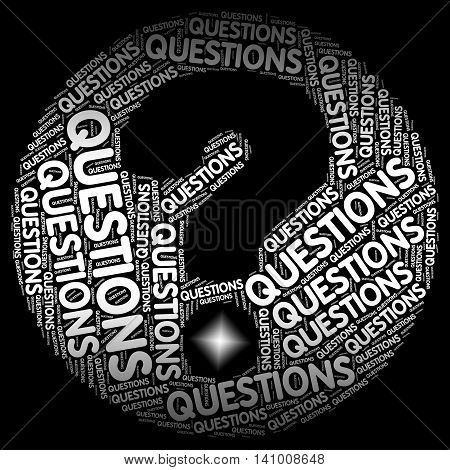 Questions Question Mark Indicates Faq Uncertainty And Problem