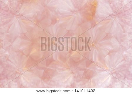 Abstract Flowers Shape Feminine Luxury Romantic Valentine Background